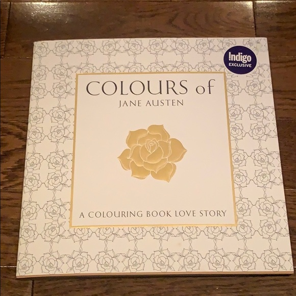 Colours of Jane Austen Colouring Book - NEW